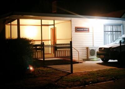 Macquarie Cottage Veranda